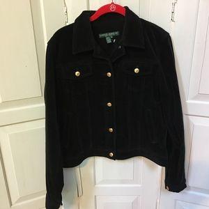 Ralph Lauren Jeans Co. Black Corduroy Jacket